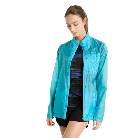 Running Women's Lite Jacket, nrgy turquoise, small-IND