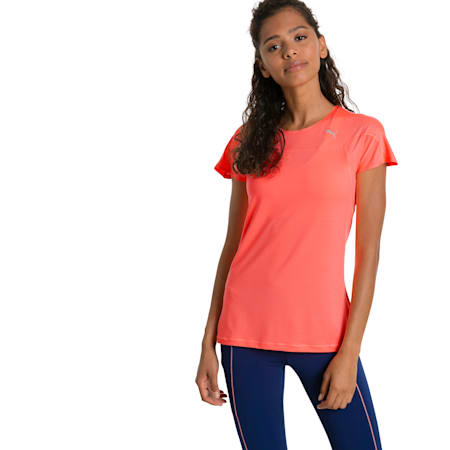 Running Women's Speed T-Shirt, Nrgy Peach, small-SEA