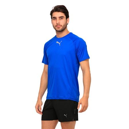 Active Training Men's Vent T-Shirt, Lapis Blue, small-IND