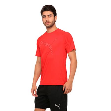 Active Training Men's Vent Cat T-Shirt, Toreador, small-IND