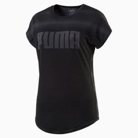 Essential Women's Yogini Logo Tee, Puma Black, small-IND