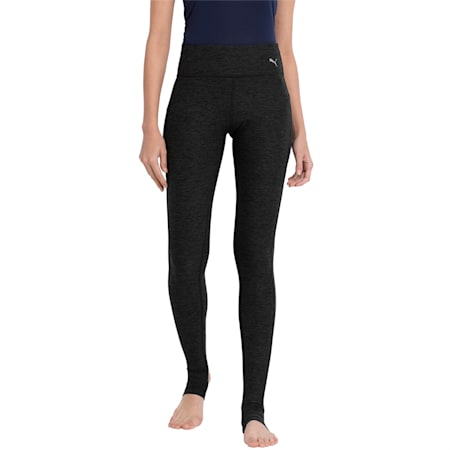 Active Training Women's Yogini Lux Tights, Dark Gray Heather, small-IND