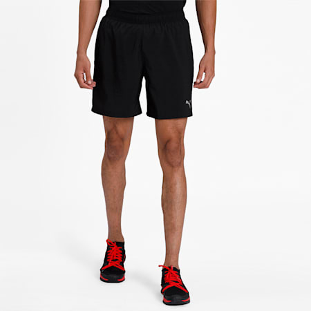 "PUMA Core Running 7"" Shorts, Puma Black, small-IND"
