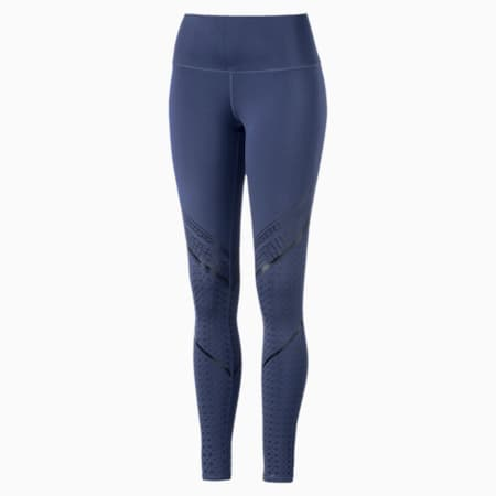 Active Training Women's Everyday Train Graphic Tights, blue indigo, small-IND