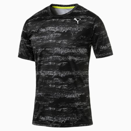 Running Men's Nocturnal T-Shirt, Puma Black, small-IND
