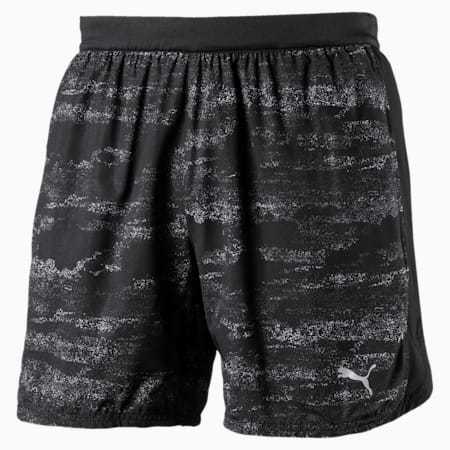 Running Men's Nocturnal Pace Shorts, Puma Black-new graphic, small-IND