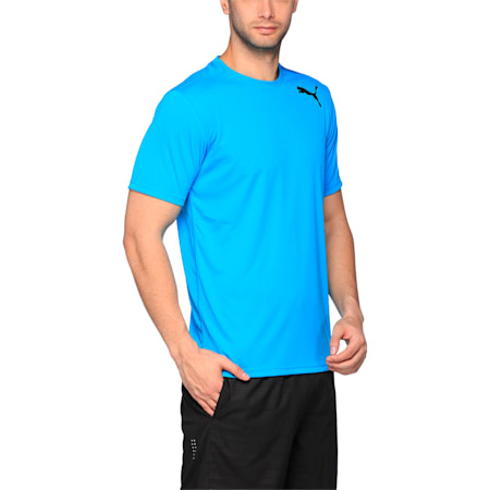 Essential SS Tee, BLUE DANUBE, small-IND