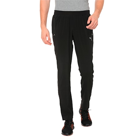 Tapered  dryCELL Men's Running Woven Pants, Puma Black, small-IND