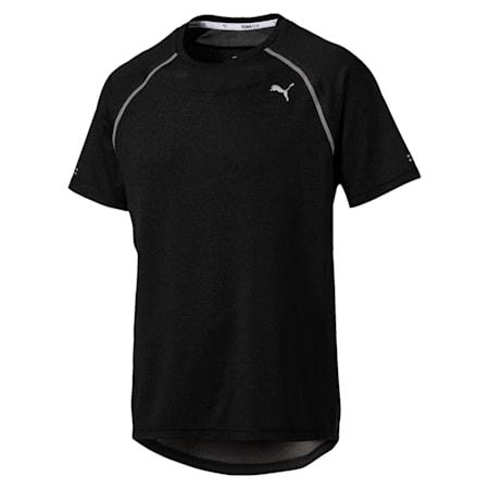 PWRRUN AdapThermo-R Men's Short Sleeve Running T-Shirt, Puma Black, small-IND