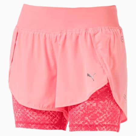 Blast 2-in-1 Women's Shorts, Soft Pch-Prdise Pnk Euphoria, small-IND