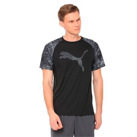 Men's Vent Cat Training Top, Puma Black, small-IND