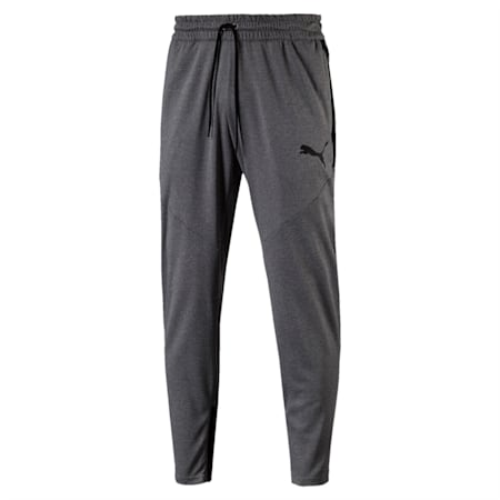 VENT Knit Men's Sweatpants, Medium Gray Heather, small-IND