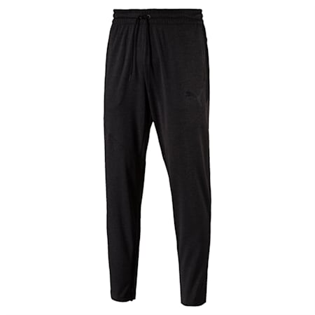VENT dryCELL Men's Knit Sweatpants, Dark Gray Heather, small-IND