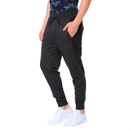 Trackster Men's Tech Sweatpants, Dark Gray Heather, small-IND