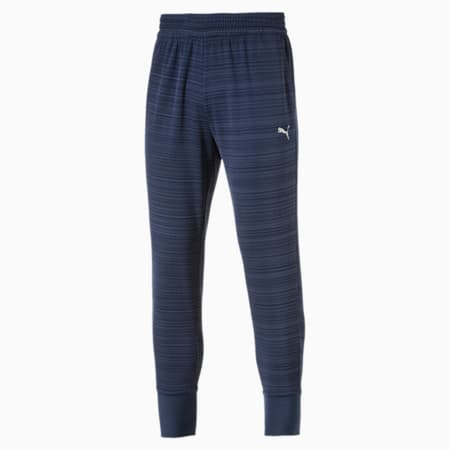 Energy Trackster Men's Training Sweatpants, Sargasso Sea Heather, small-IND