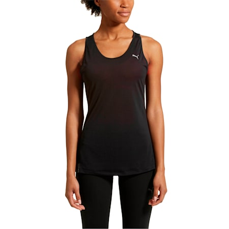 Core-Run Women's Tank Top, Puma Black, small-SEA