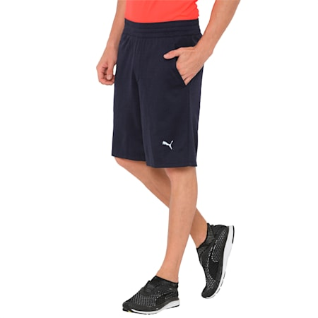 Oceanaire Energy Men's Shorts, Peacoat Heather, small-IND