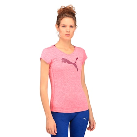 Heather Cat Women's Tee, Love Potion Heather, small-IND