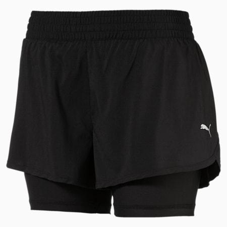 """Core Run 2-in-1 3"""" Women's Shorts, Puma Black, small-SEA"""