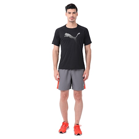Core-Run Logo S S Tee, Puma Black-new cat, small-IND