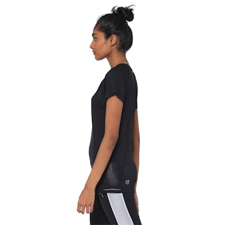 Core-Run S S Tee W, Puma Black, small-IND