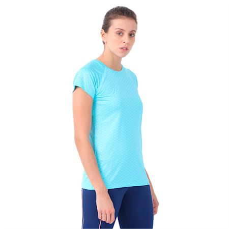 Graphic S S Tee W, turquoise-Nrgy Turquoise-AOP, small-IND