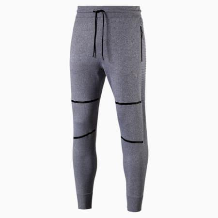 Pantaloni EvoKnit Energy Trackster da uomo, Medium Gray Heather, small