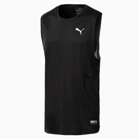 T-Shirt pour l'entraînement A.C.E. sans manche pour homme, Puma Black, small
