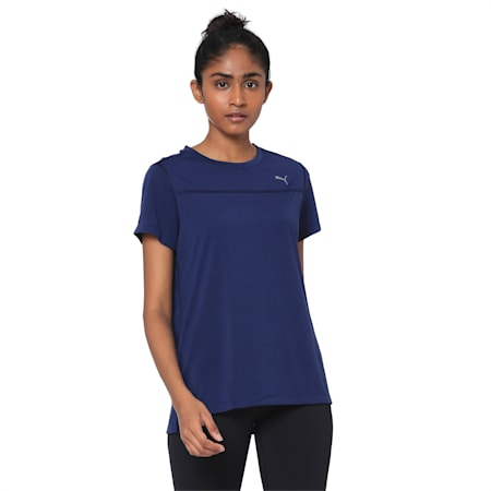 Women's Short Sleeve dryCELL Tee, Peacoat, small-IND
