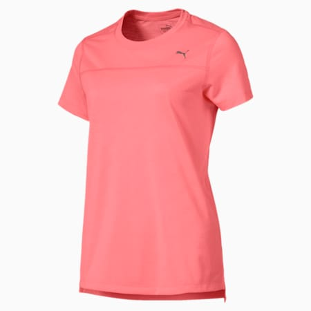 Running Women's IGNITE T-Shirt, Bright Peach, small-SEA