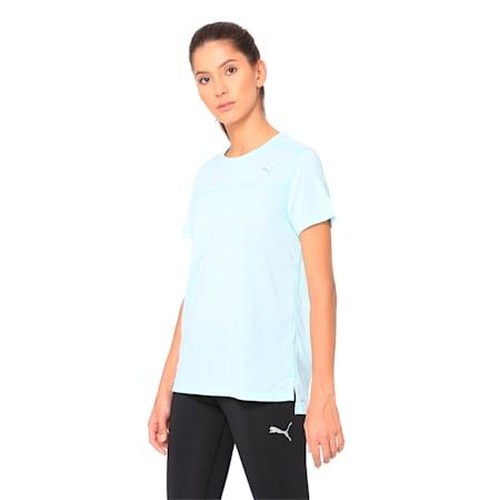Women's Short Sleeve dryCELL T-Shirt, Fair Aqua, small-IND