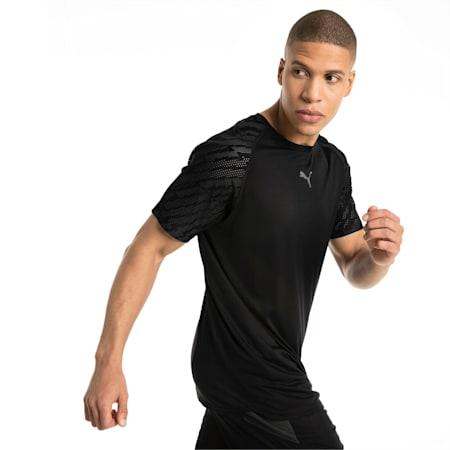 VENT Graphic Men's T-Shirt, Puma Black-iron gate, small-IND