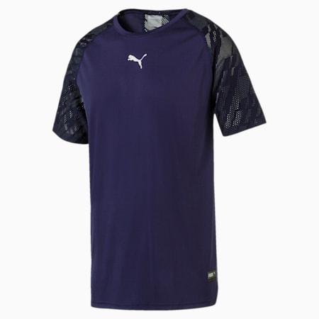 VENT Graphic Men's T-Shirt, Peacoat-iron gate, small