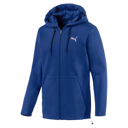 VENT Zip-Up Hooded Men's Jacket, Sodalite Blue, small-IND