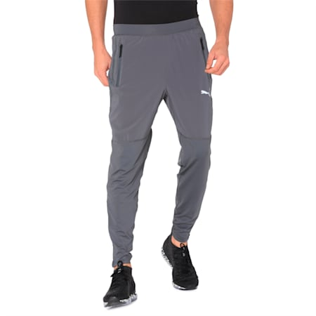 NeverRunBack Tapered Sweatpants, Iron Gate, small-IND