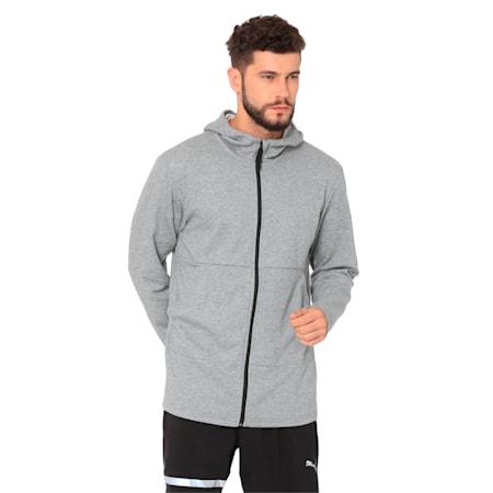 Energy FZ Jacket Puma Black, Medium Gray Heather, small-IND