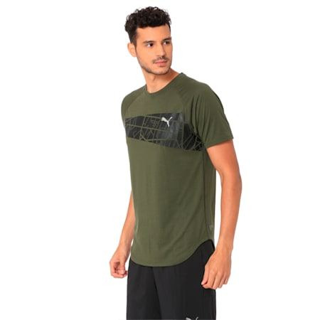 Graphic Triblend Men's Tee, Forest Night, small-IND