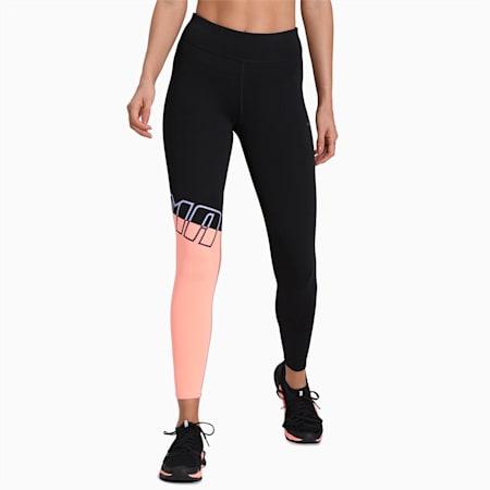 Training Women's A.C.E. All Me 7/8 dryCELL Tights, Puma Black-Bright Peach, small-IND