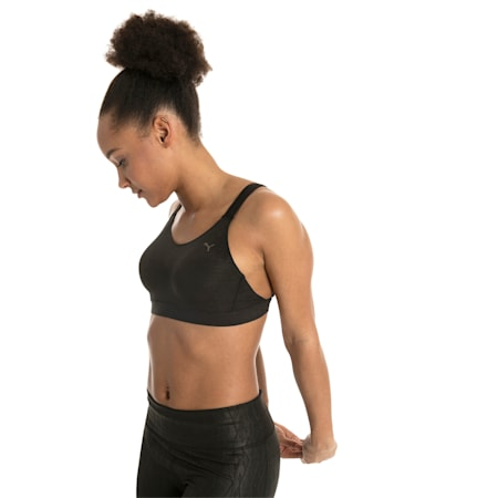 Control High Impact Women's Bra Top, Puma Black, small