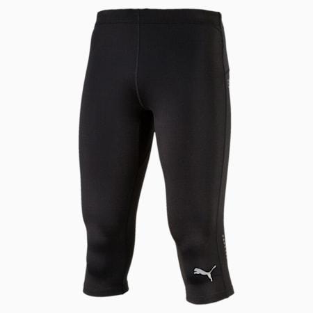 IGNITE 3/4 Men's Running Leggings, Puma Black, small-SEA