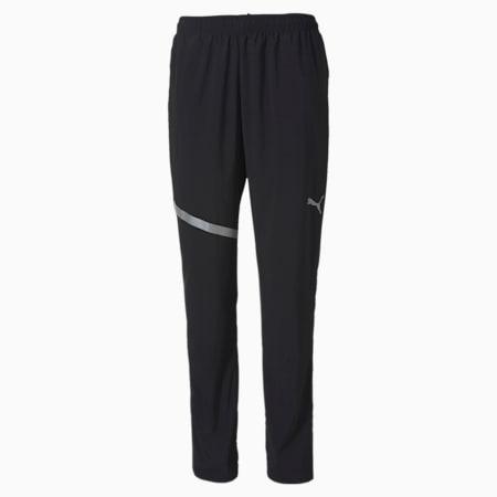 IGNITE Woven Men's Running Pants, Puma Black, small-SEA