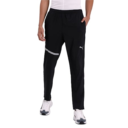 IGNITE Woven dryCELL Men's Running Pants, Puma Black, small-IND