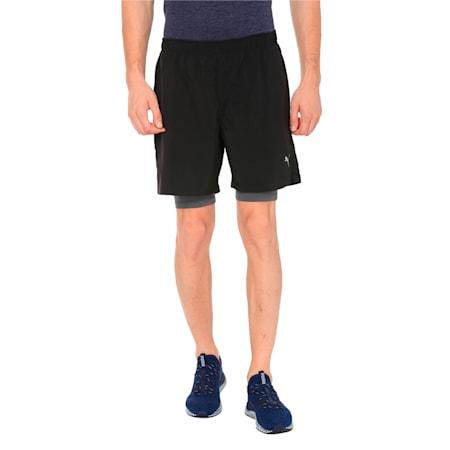 Running Men's IGNITE 2-in-1 Shorts, Puma Black, small-IND