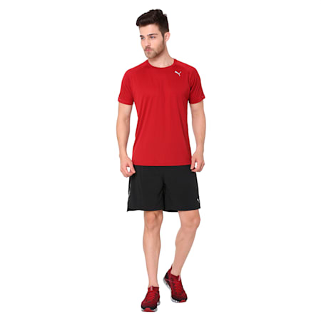 Core-Run S/S Tee, Red Dahlia, small-IND