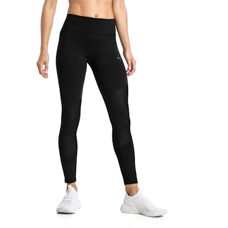 Always On Solid dryCELL Women's 7/8 Training Leggings, Puma Black, small-IND