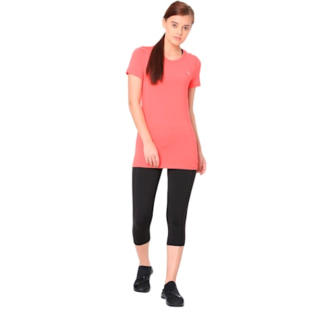 Essential Women's Tee, Paradise Pink, small-IND