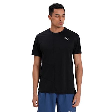 IGNITE dryCELL Men's Running T-Shirt, Puma Black, small-IND