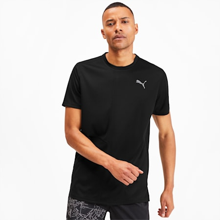 IGNITE Men's Running T-Shirt, Puma Black, small-SEA