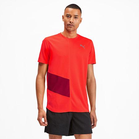IGNITE Men's Running T-Shirt, Nrgy Red-Rhubarb, small