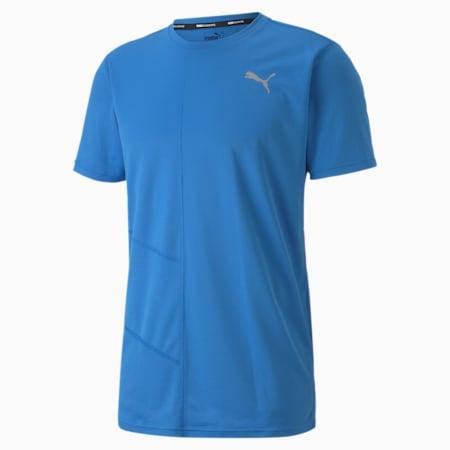 IGNITE Men's Running T-Shirt, Palace Blue, small-SEA